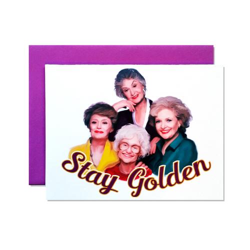 golden girls greeting card doozie bella