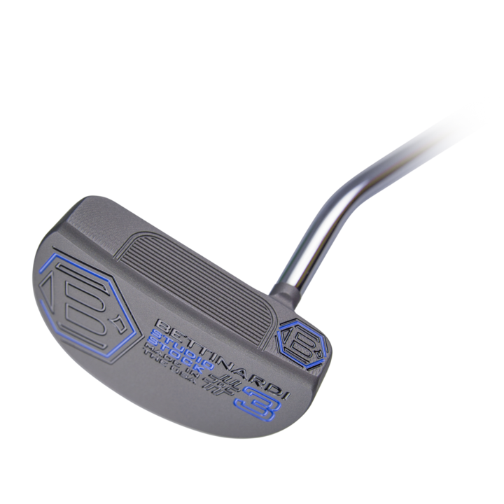 Weight:  358 gramsMaterial:  Mild Carbon SteelFinish:  Mercury GrayLoft:  3°Lie:  70°Grip:  Blue Lamkin Corded Grip (Standard or Jumbo)   -