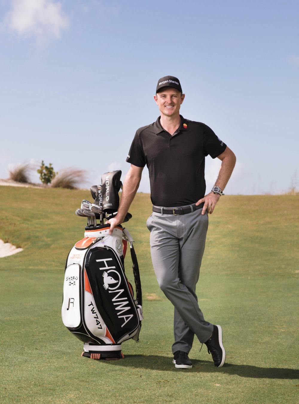 """Die neue T/World - Die neue  TWorld Serie von HONMA, spricht vor allem die sportlichen Golfer an. Hier liegt der Fokus auf Qualität und Präzision. Trotz des vergleichbar niedrigen Preises, sind alle Köpfe und Schäfte """"Made in Japan"""". Der erste große Markenbotschafter dieser Serie ist Justin Rose."""