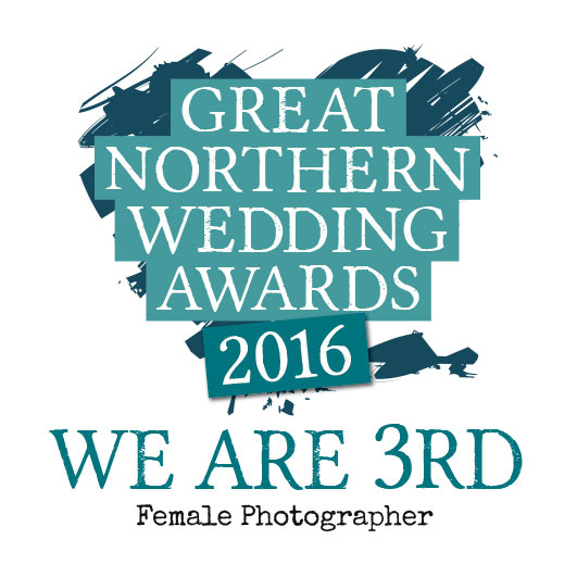 Great Northern Wedding Awards - We are 3rd