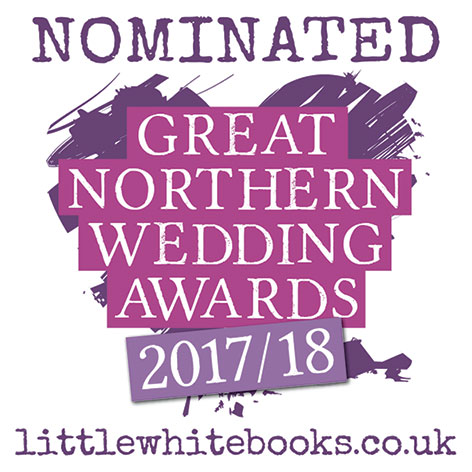 Great Northern Wedding Awards badge 2017/18