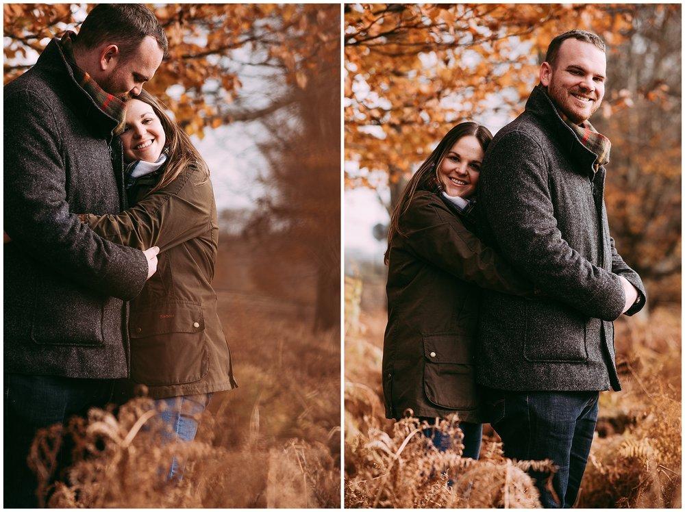 dunham massey engagement photoshoot in Altrincham, Cheshire