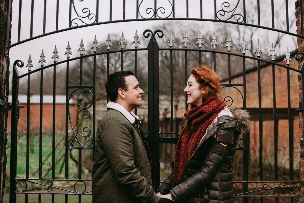 Gates in Haigh Hall Gardens