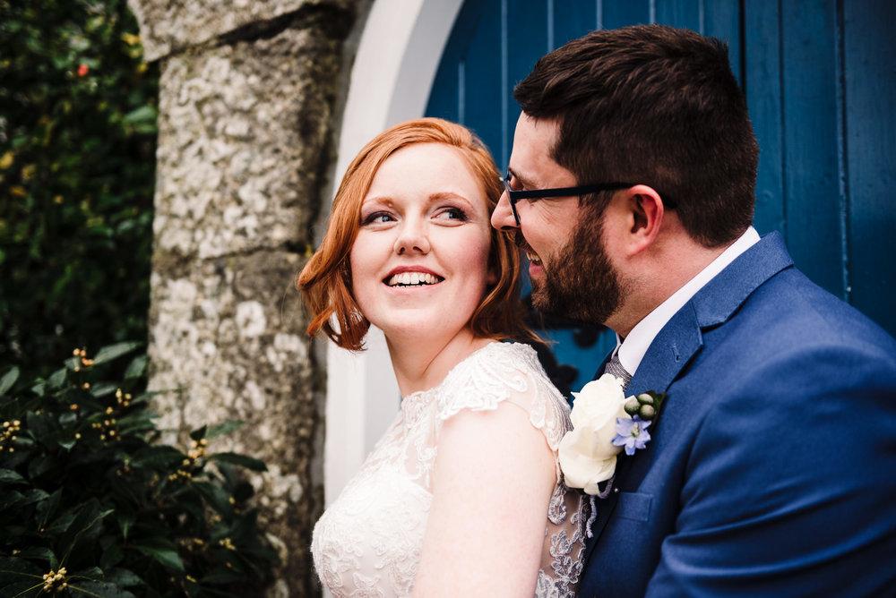 Closeup of couple