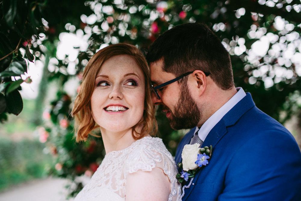 Modern wedding photography. Bridal portrait. Cornwall wedding photography.