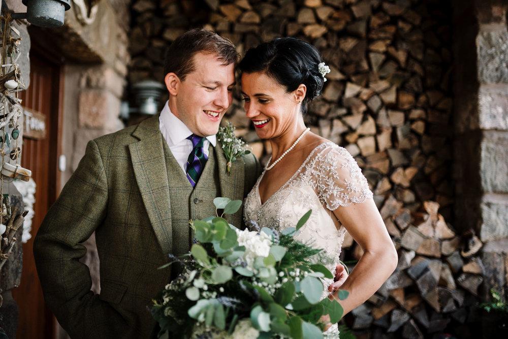 Farm house wedding. Lake District wedding photography
