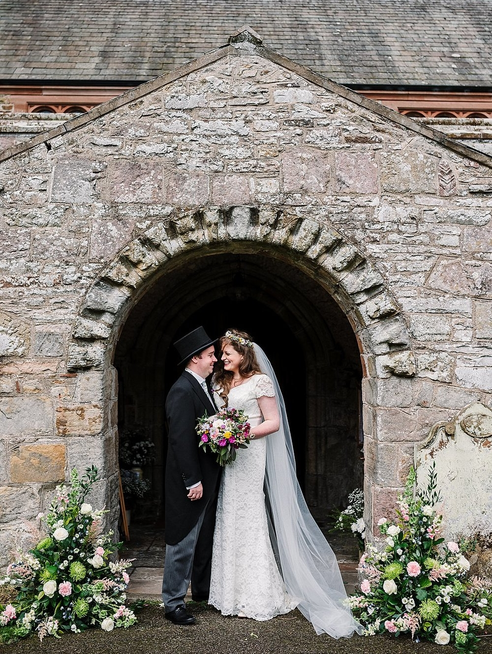 A Vintage Styled Village Hall Wedding in The Lake District -