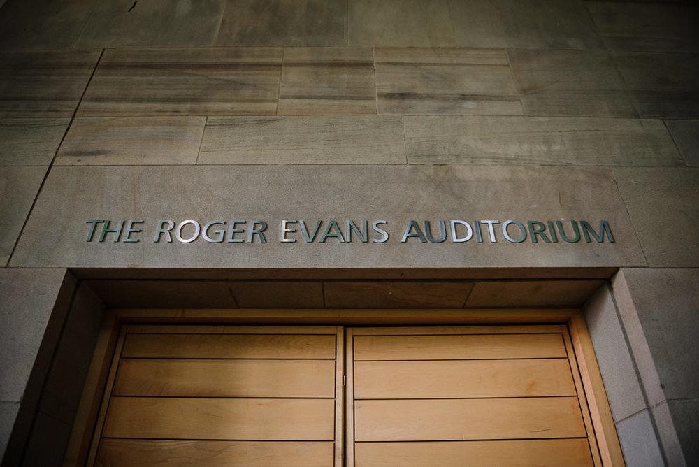 Roger Evans Auditorium