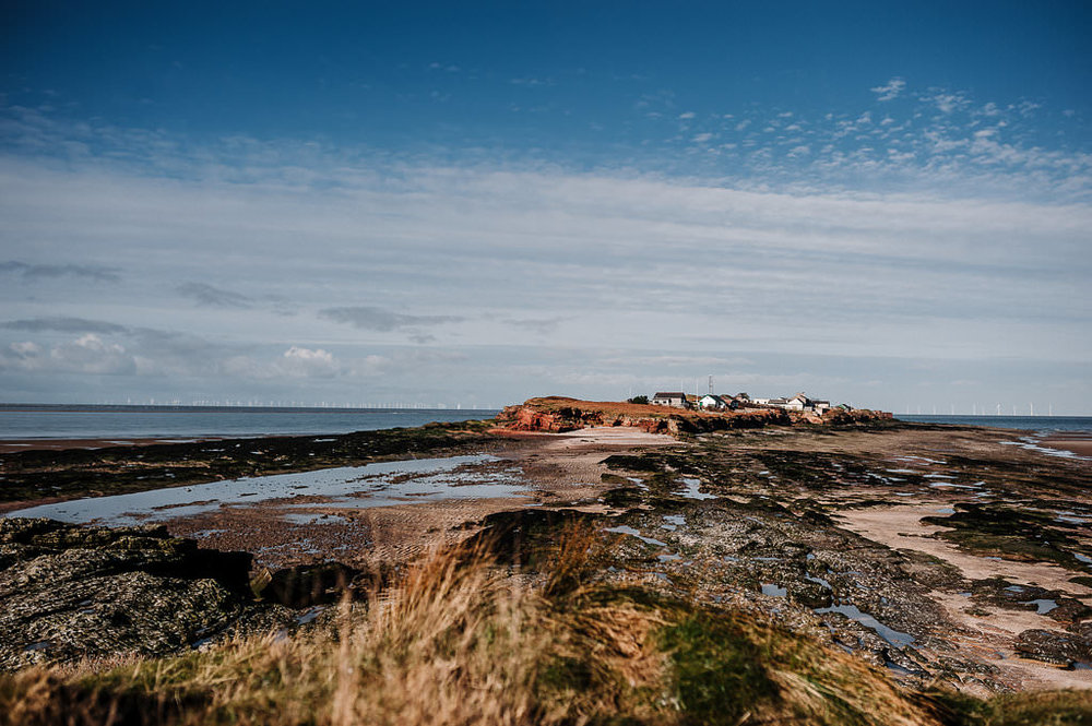 Landscape shot of Hilbre Island. West Kirby photography