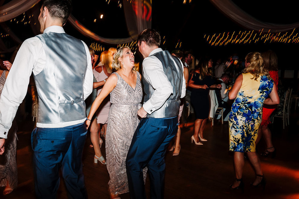 Guests busting some dance floor moves