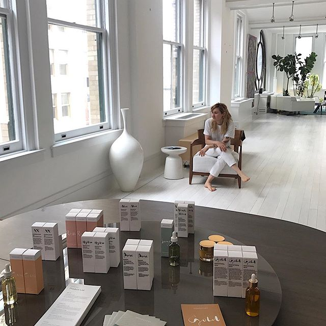 Thank you to all the editors who came to visit with me for a Monastery facial these past 3 days, I had a blast! -Athena @voguemagazine @atelierdore @tmagazine @allure @real_simple @mindbodygreen @dominomag @purewow @travelandleisure @departuresmag @fashionista_com @laurencaruso_  @tanishapina  @refinery29 @goop @glamour @gq