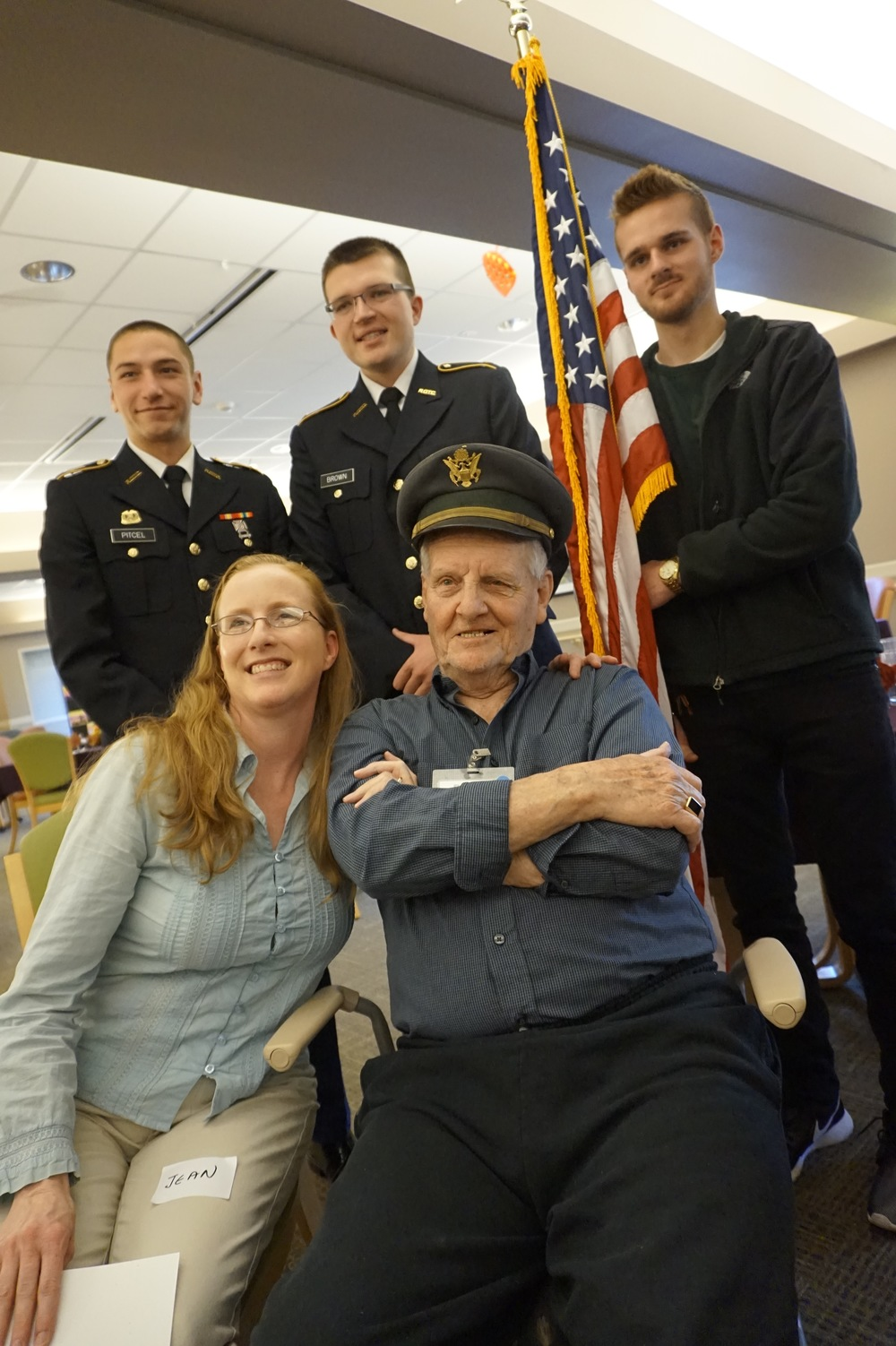 Oakland Centre has many guests who are veterans — we always remember them in special ways.