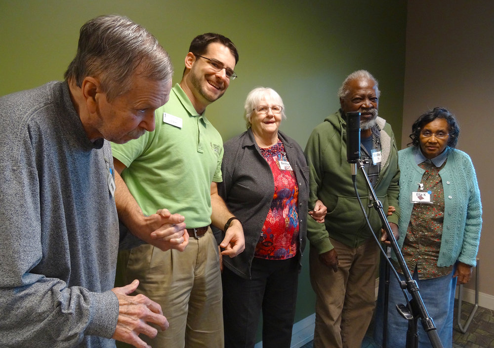 Adult Day Services at Oakland Centre Guests Sing Summertime Blues