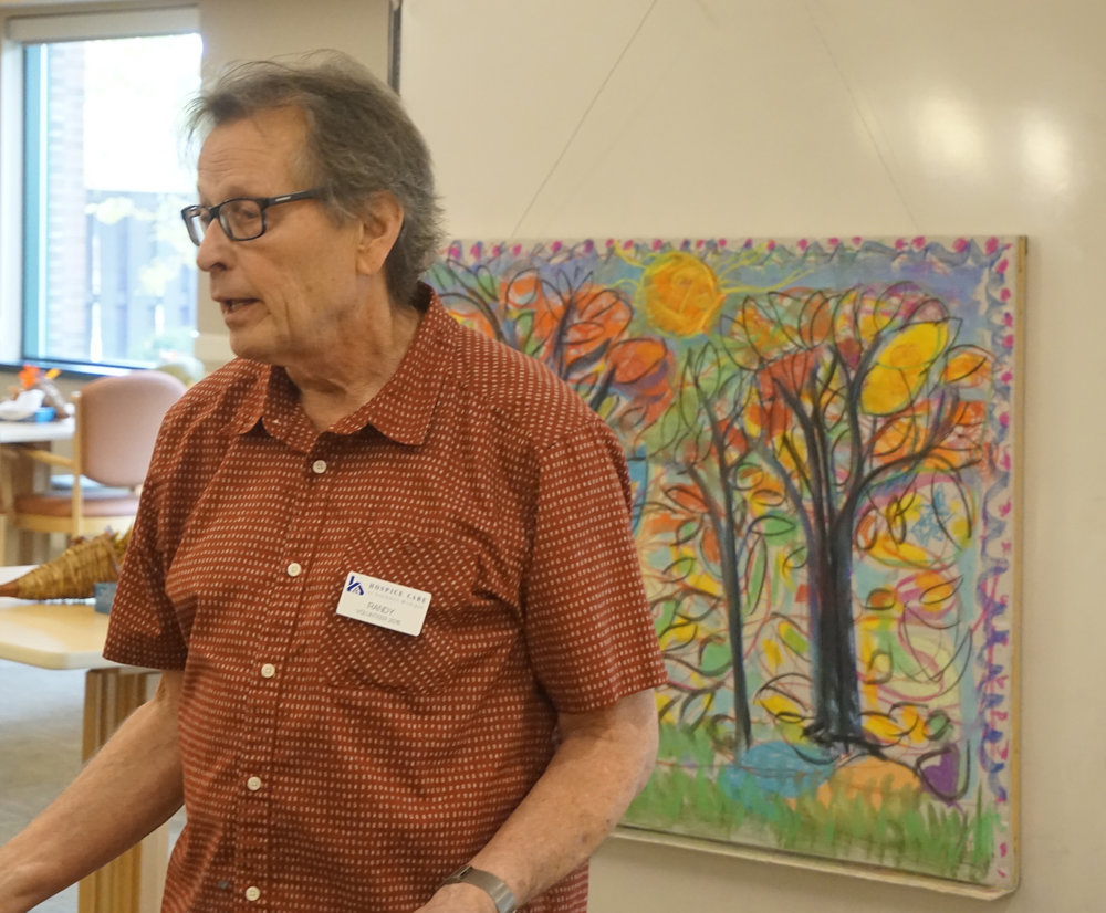 Adult Day Services at Oakland Centre Art Project