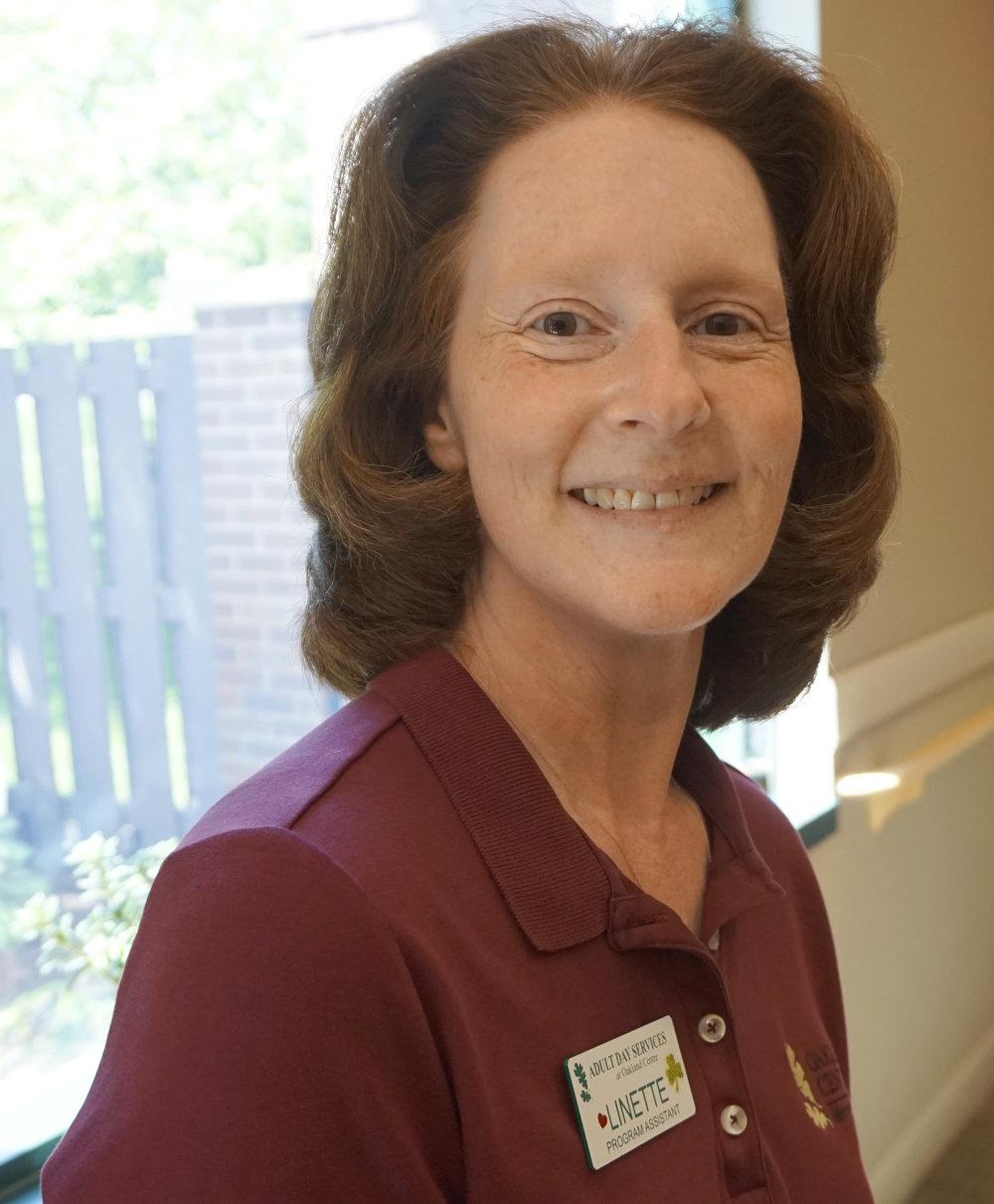 Linette Gibson, Program Assistant