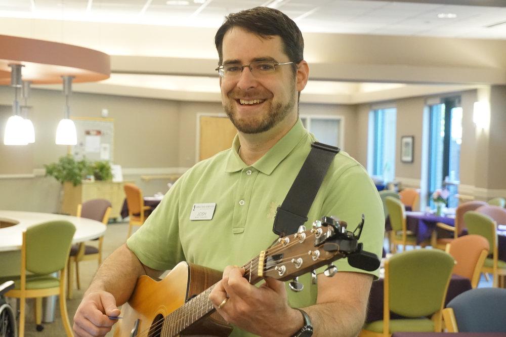 Josh Keller, Music Therapist