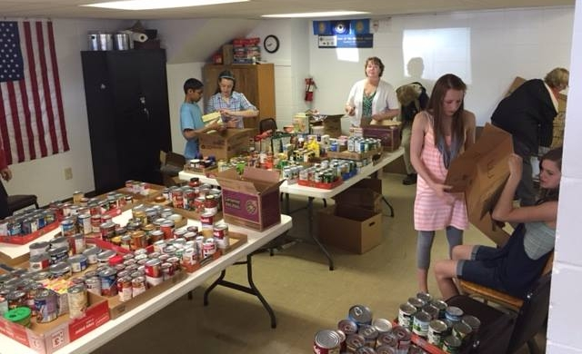 CIA food pantry