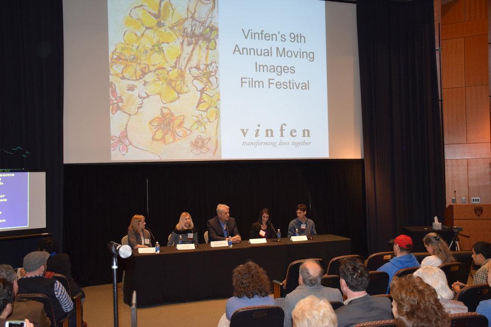 Speakers at the Vinfen Moving Images Film Festival at Harvard Medical School