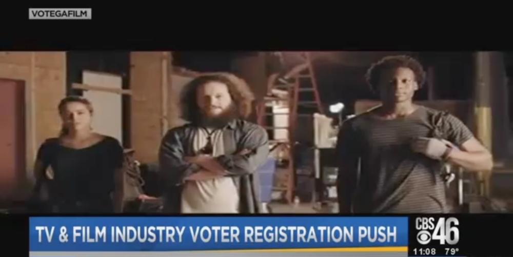 Voting PSA on CBS