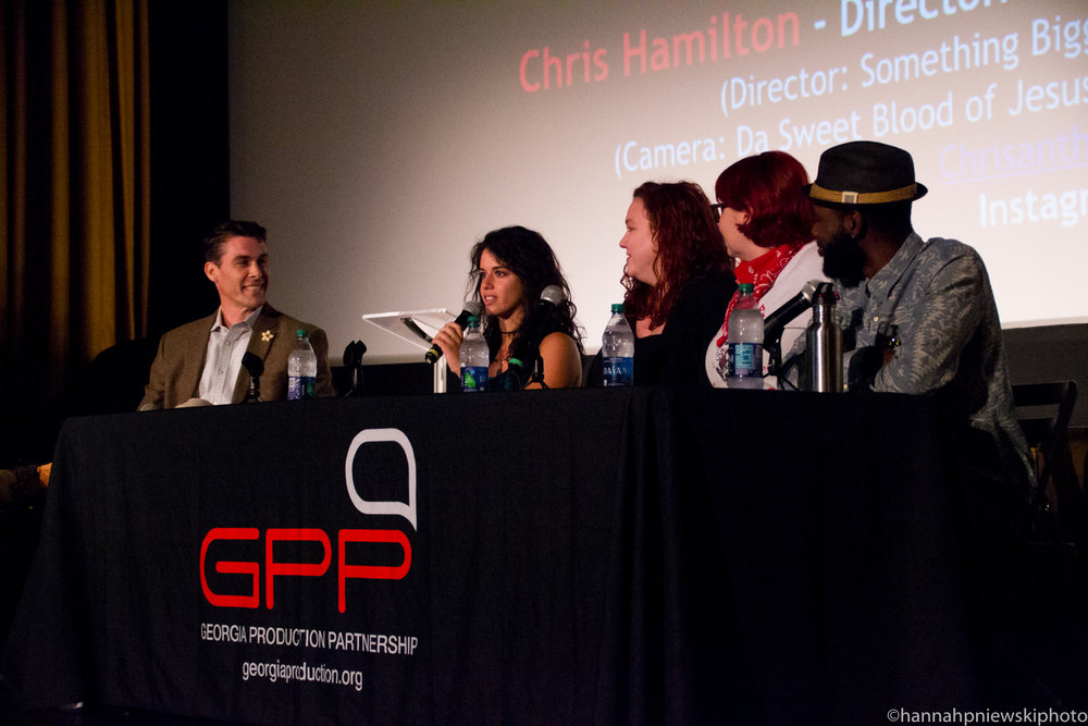 Georgia Production Partnership panel