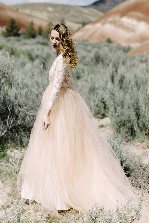 SAMPLE Paloma Gown — Elizabeth Dye