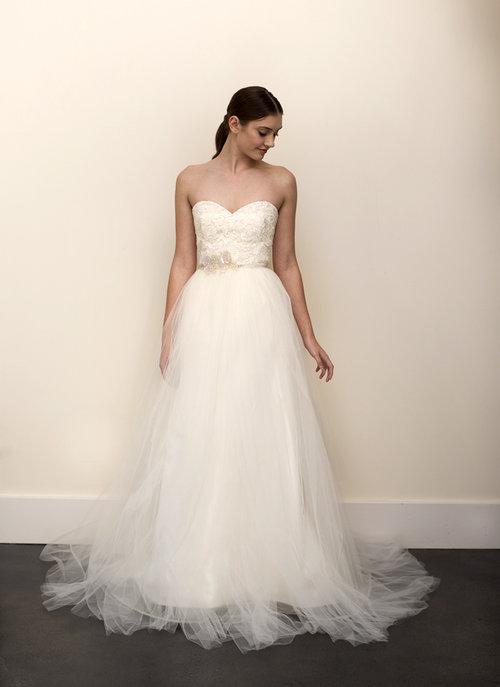SAMPLE Halo Gown — Elizabeth Dye