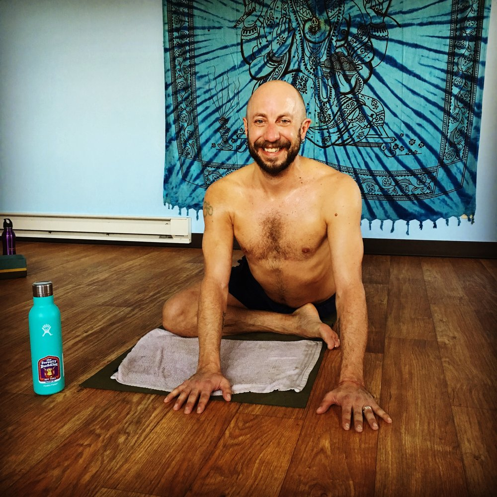 "January Challenge winner - Congratulations to David our 1st place January challenge winner! He made it to class every single day this month. He chose pigeon pose for his photo because at the beginning of the month he wasn't able to get into the pose as deeply. Other words he shared ""Coming everyday was worth it! I feel great and can mountain bike forever.""Thank you to everyone who participated in our challenge! It was awesome to see so many of you grow and advance your practices!For those that joined the challenge and practiced consecutive days in a row let the teacher know next time you are making a purchase. We will verify and apply the appropriate discount to your next pass or punch card.Look out for a Summer challenge 😍"