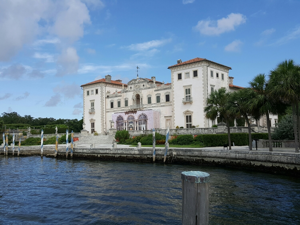Miami's neoclassical Vizcaya Mansion.