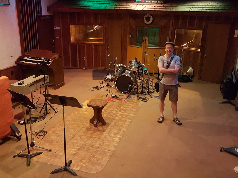 Some of the greatest artists of alll time have recorded in this room - Fame Studios in Muscle Shoals.