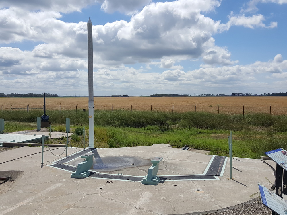 The November-33 launch site.