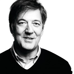 Stephen Fry   is a writer, actor, comedian, presenter and activist. He reads all James Anthony's retellings in  Shakespeare's Sonnets, Retold.