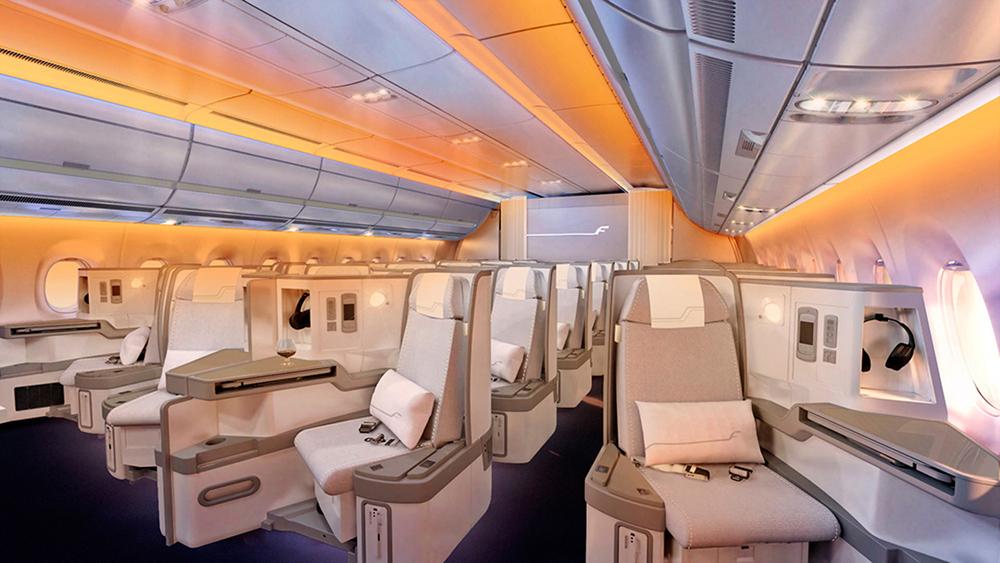 Finnair A350 Business Class Cabin.jpg