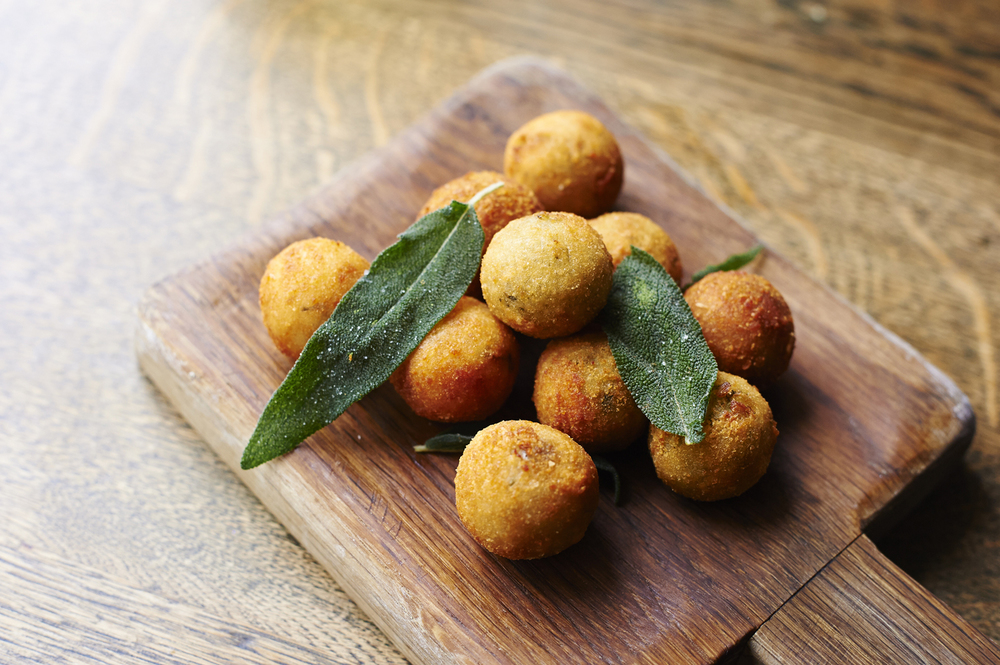 Cucina Angelina Arancini filled with pigeon ragout.jpg