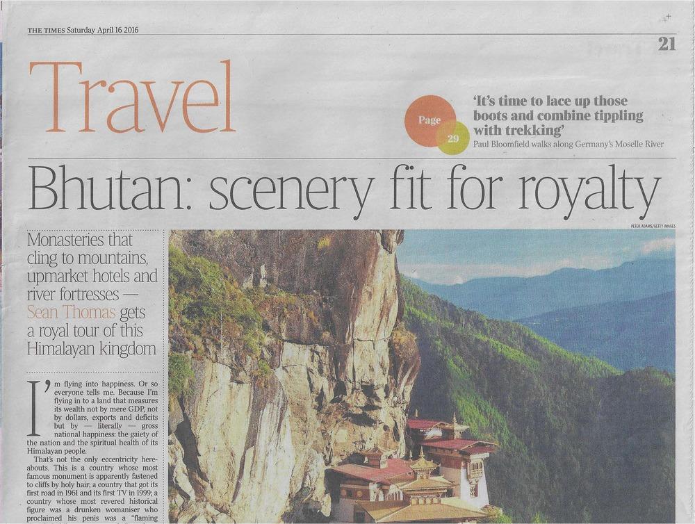 COMO - The Times (Bhutan) - April 16 Page 1.jpg