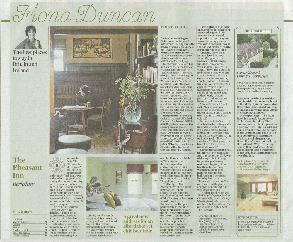 Sunday Telegraph The Pheasant May 16.jpg