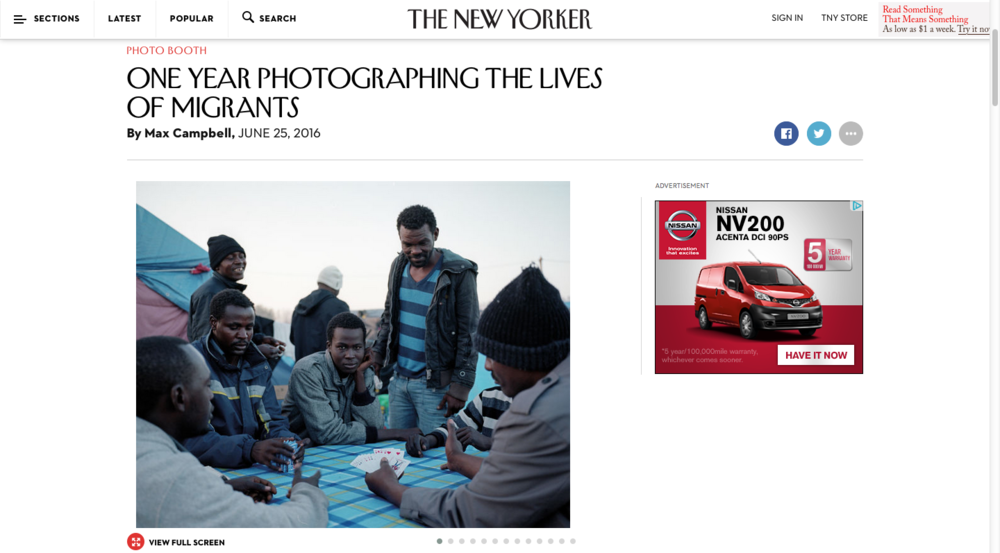 The New Yorker - Photo Booth