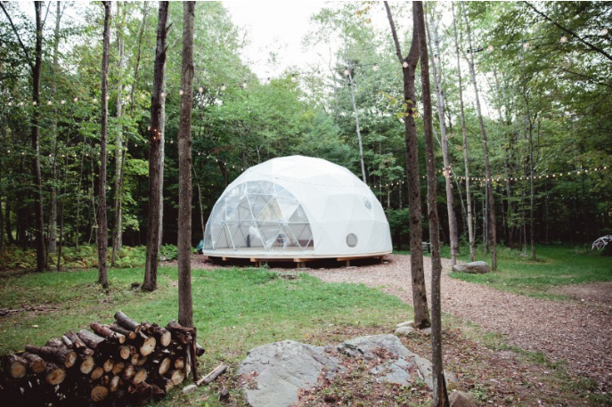 Geodesic Dome in the Wild available to book on Splacer
