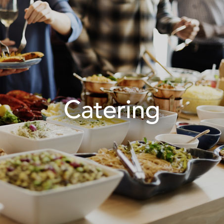 THE WAY TO GUESTS' HEARTS IS ALWAYS THROUGH THEIR STOMACHS.  - Sourcing - Food and cocktail menu design and selection - Personalized extras (cakes, sweet treats, etc.)