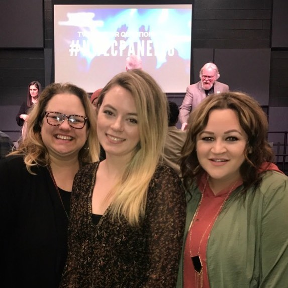 Good times today with @lutzlife and @shandalier at the @trevecca Worship Lunch & Learn 😁 these two are amazing 😘 #worship #worshipleadermagazine