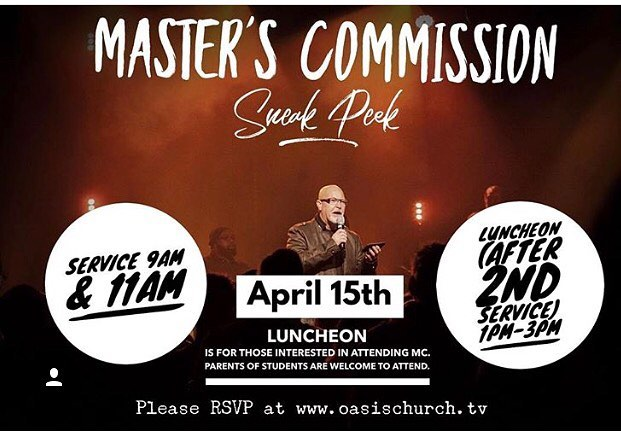 Today I have been overwhelmed with so much thankfulness. I don't even know where to begin except I'm so grateful and to say that God is so faithful. This fall we are launching @nashvillemasterscommission at our amazing church @oasischurchtv!!! This Sunday is a sneak peak of what MC is and Pastor Lloyd Zeigler will be sharing. If you want to see what we are talking about... come to @oasischurchtv this Sunday!!!! You won't be disappointed. #nashvillemasterscommission #mcin #nashville #musiccity #thankful #youth #youthministry #pursueremarkable #myoasis