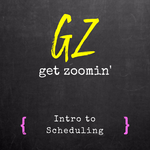 Intro to Scheduling