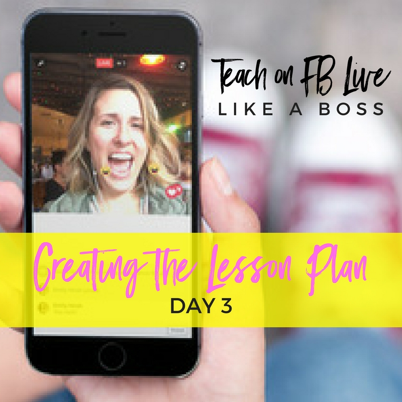 Creating the Lesson Plan