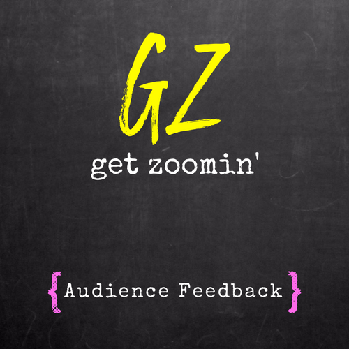 *NEW* Audience Feedback