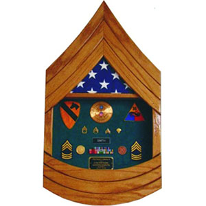 Army rank shadow box sergeant first class sfc texas for Table 3 6 usmc