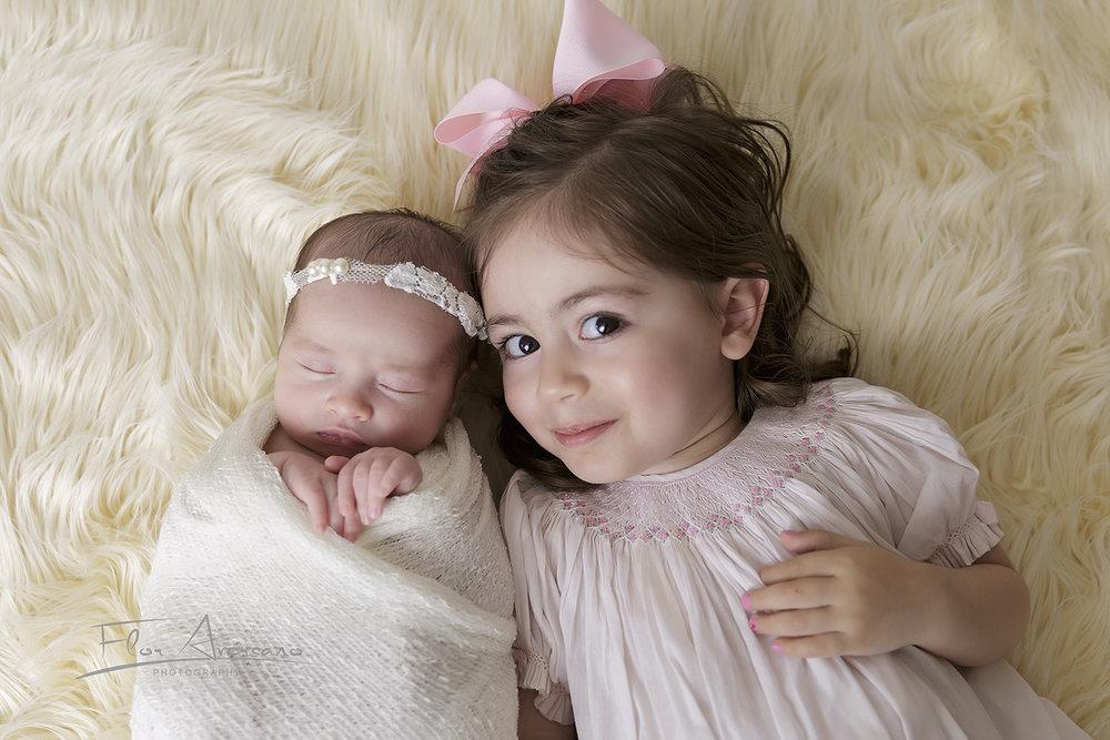 newborn stella sibling