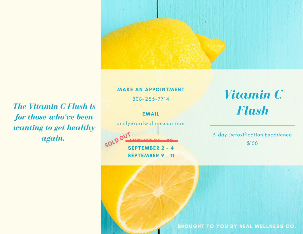 Vitamin C Flush — Real Wellness Co