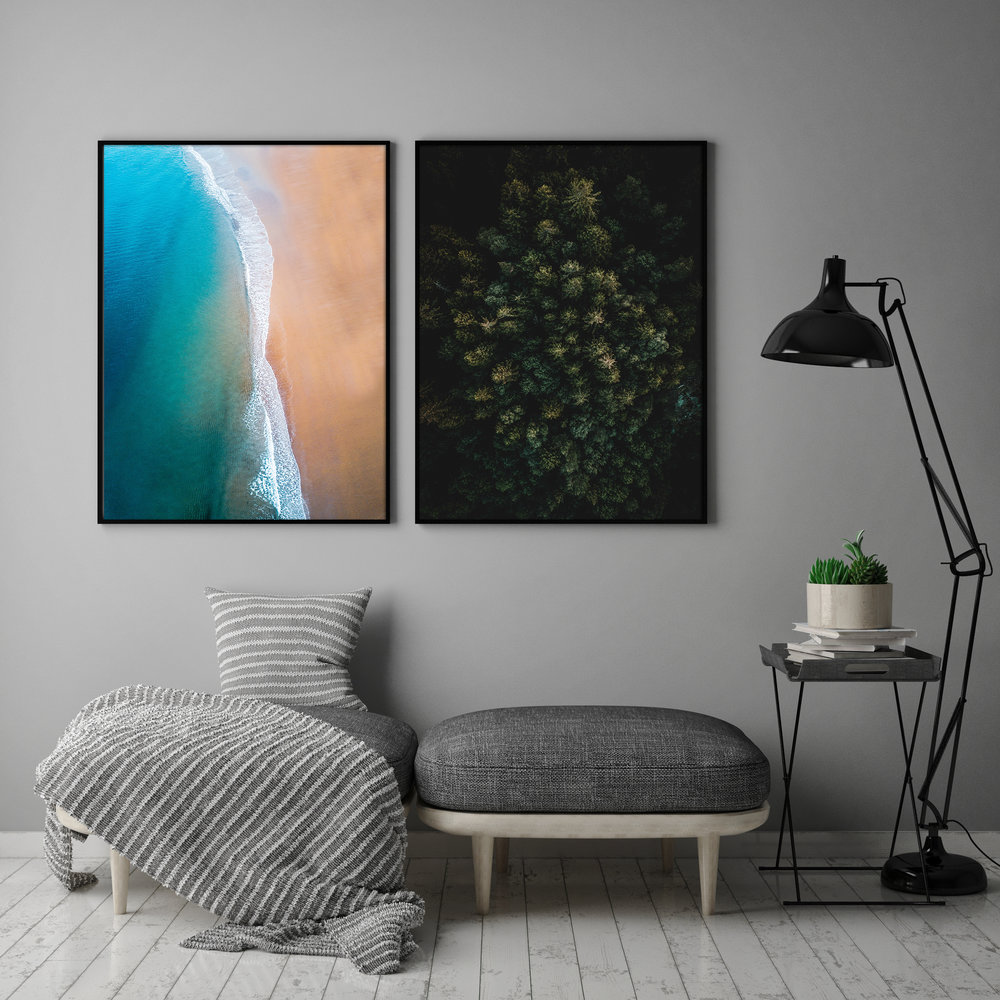 Beach (50x70 cm)  Lugns Of The Earth (50x70 cm)