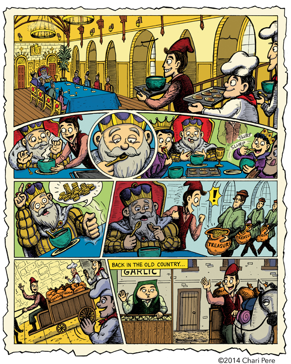 """Onions & Garlic"", Page 3"