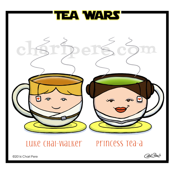 """""""Tea Wars"""""""