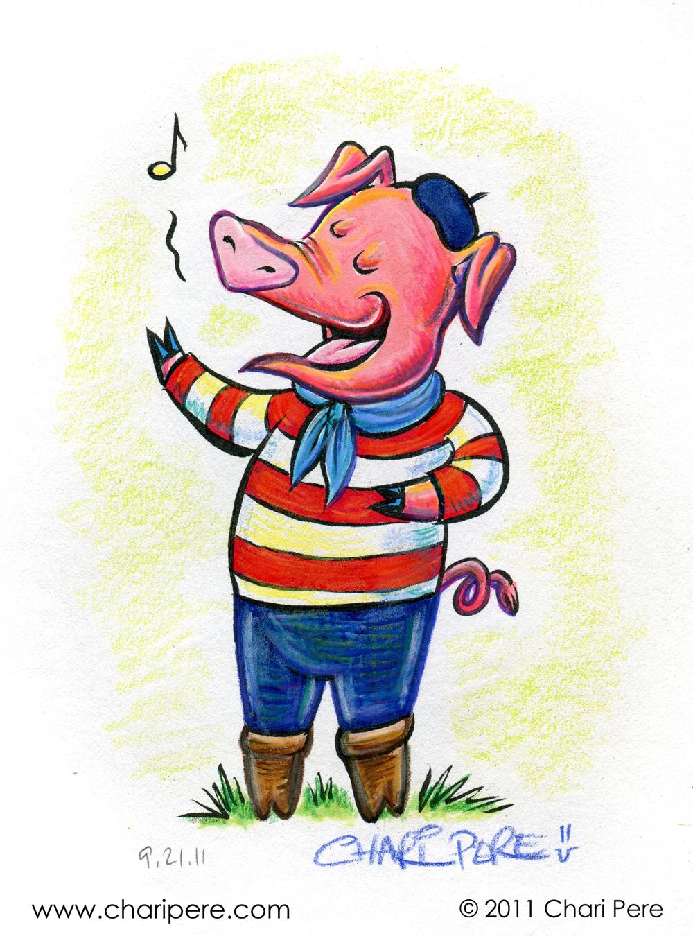 Singin' Swine